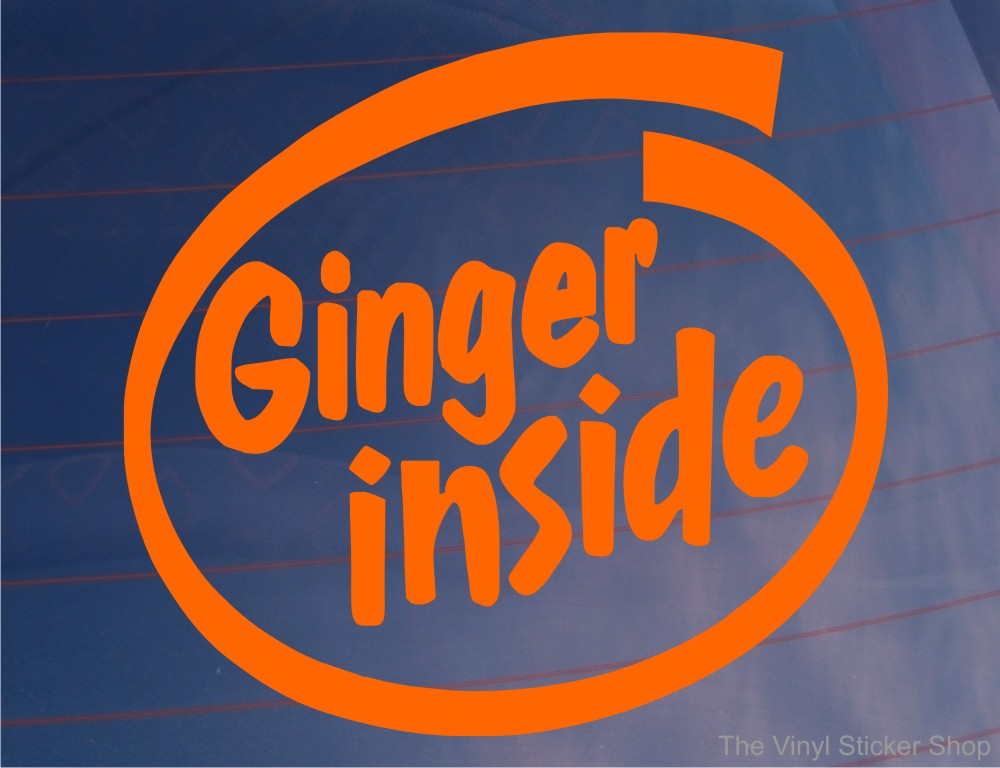 Jedi inside ginger inside