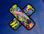 Plaster Sticker Bomb - Colour